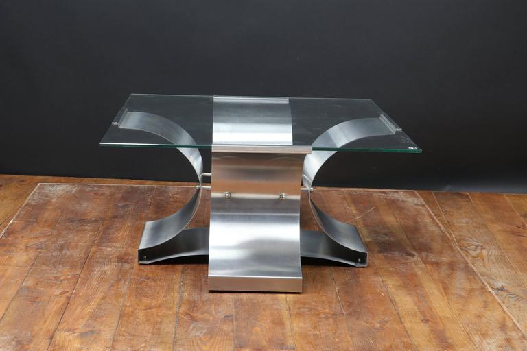 French table produced in the 1970s by Kappa and designed by Francois Monnet.