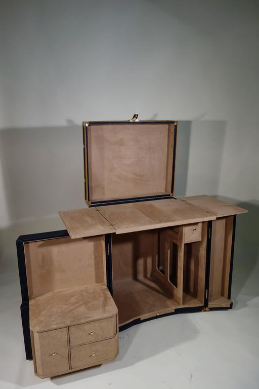 Special order office trunk or malle bureau commande for Bureau commande
