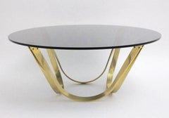 Brass Coffee Table by Roger Sprunger 1960s for Dunbar Furniture USA