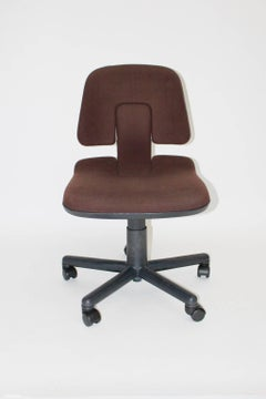 Office Chair Vitramat by Wolfgang Mueller Deisig 1976 for Vitra Switzerland