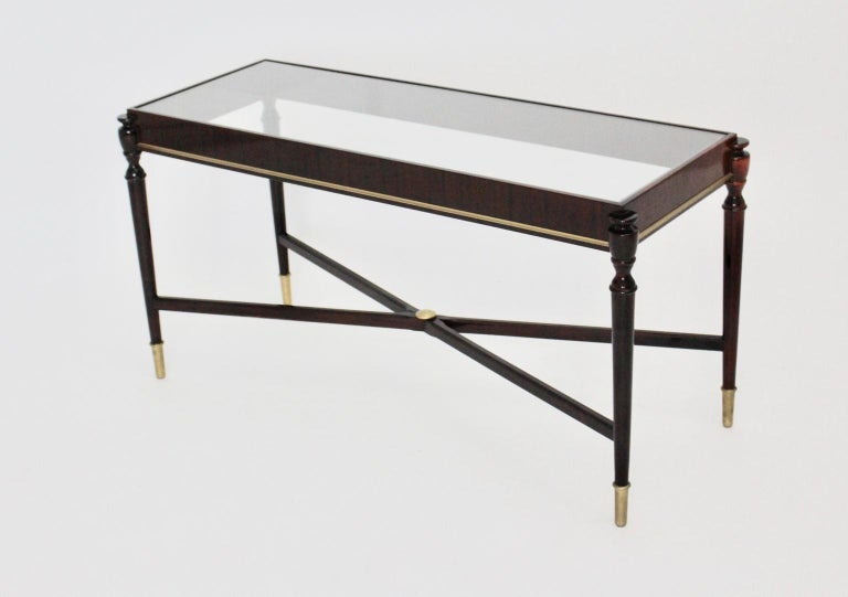 Side Table by Paolo Buffa Attributed, Italy, 1940s-1950s For Sale 7