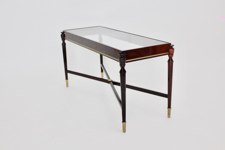 Side Table by Paolo Buffa Attributed, Italy, 1940s-1950s For Sale 8