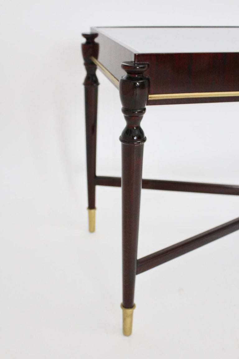 Side Table by Paolo Buffa Attributed, Italy, 1940s-1950s For Sale 11