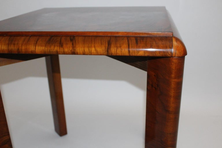 Art Deco Side Table, Austria, circa 1930 In Good Condition For Sale In Vienna, AT