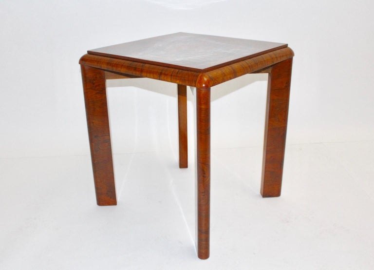 Mid-20th Century Art Deco Side Table, Austria, circa 1930 For Sale