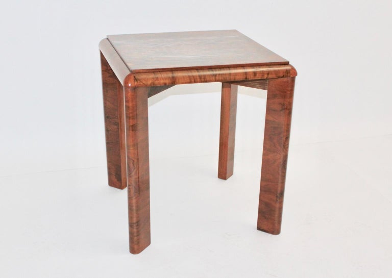 Art Deco Side Table, Austria, circa 1930 For Sale 1