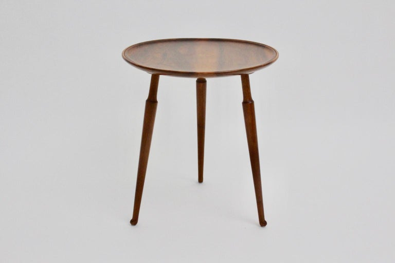 Austrian Josef Frank Art Deco Era Coffee Table for Haus & Garten Vienna, circa 1925 For Sale