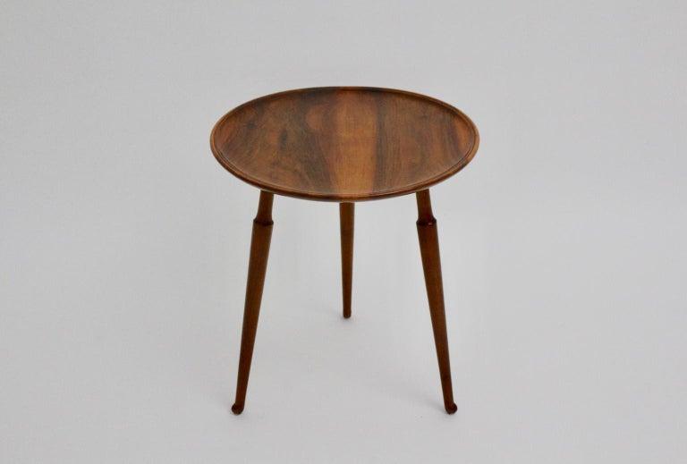 Walnut Josef Frank Art Deco Era Coffee Table for Haus & Garten Vienna, circa 1925 For Sale