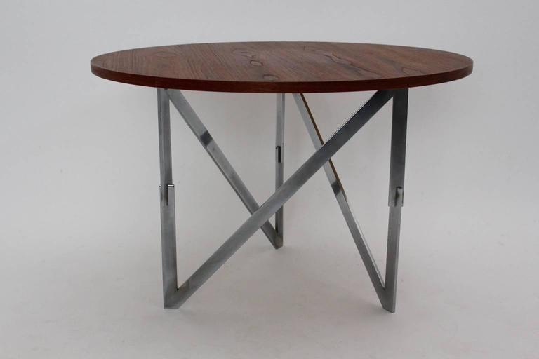 Danish Scandinavian Modern Vintage Teak Coffee Table Aksel Bender Madsen Ejner Larsen For Sale