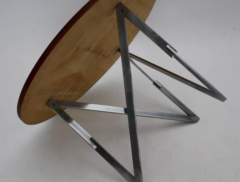 Mid-20th Century Scandinavian Modern Vintage Teak Coffee Table Aksel Bender Madsen Ejner Larsen For Sale
