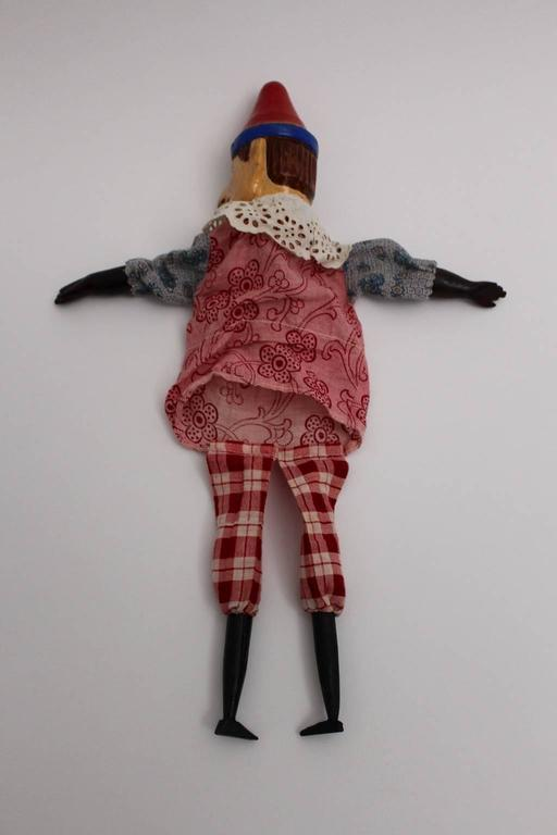 Art Deco Vintage Glove Puppetry, circa 1920 For Sale 2