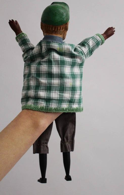 Art Deco Vintage Glove Puppetry, circa 1920 For Sale 3