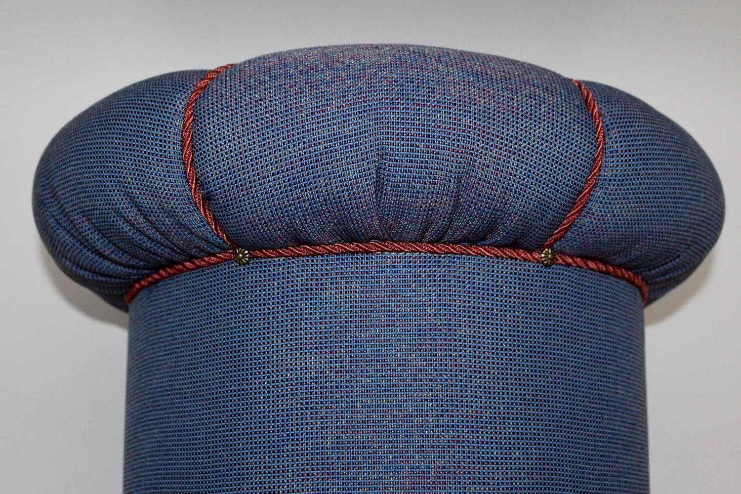 Art Deco Pouf Or Tabouret 1930s At 1stdibs
