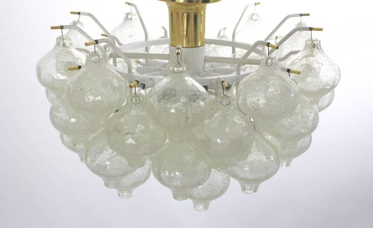 Mid-Century Modern Flush Mount Tulipan by J. T. Kalmar, Vienna, 1960 For Sale 1