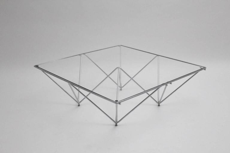 Coffee Table in the Style of Paolo Piva, Italy, 1980s In Good Condition For Sale In Vienna, AT