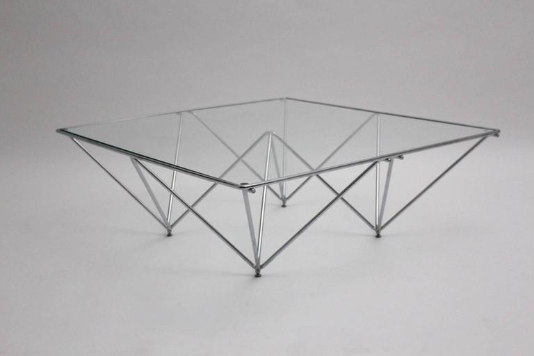Late 20th Century Coffee Table in the Style of Paolo Piva, Italy, 1980s For Sale