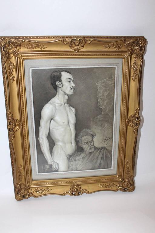 The painter Emil Fiala (8.9.1896 Prossnitz - Mähren Czech Republic - Dec. 1960 Vienna) studied at the Viennese Academy by Franz Rumpler, August Eisenmenger, Julius Schmid, Christian Griepenkerl.  He was a member of the Austrian Künstlerbund