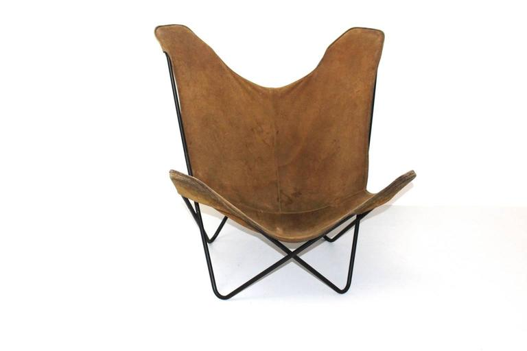 Butterfly Chair By Jorge Ferrari-Hardoy Juan Kurchann
