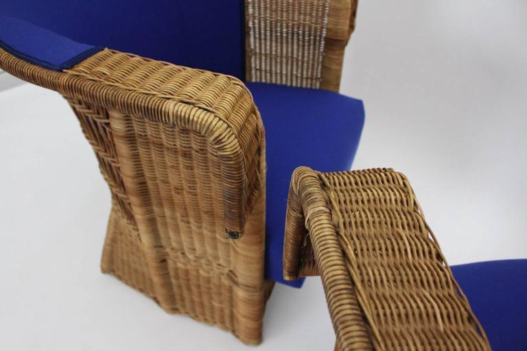 Pair of Wicker Chairs by Hans Vollmer, 1902-1903, Vienna 6
