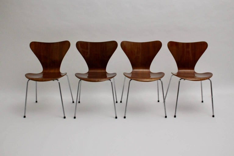 Modell 3107 Stühle, ca. 1955, Arne Jacobsen 2
