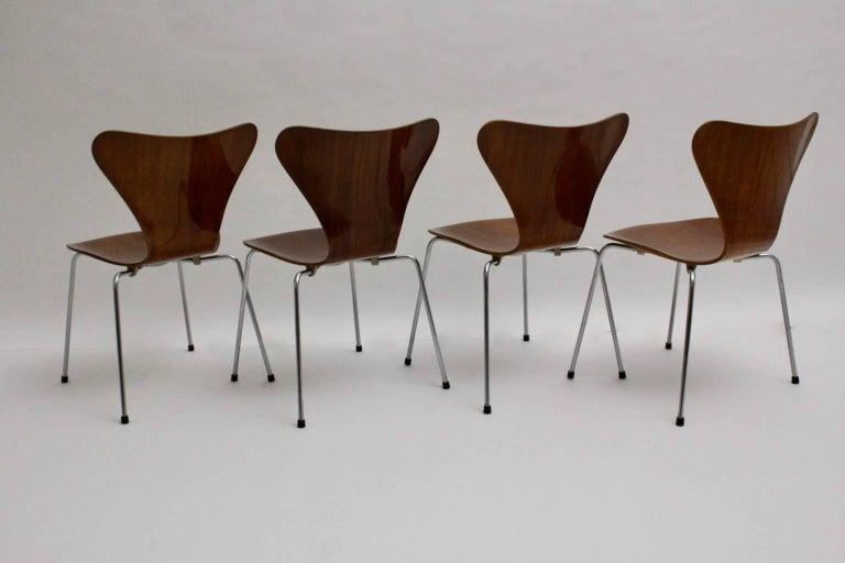 Modell 3107 Stühle, ca. 1955, Arne Jacobsen 3