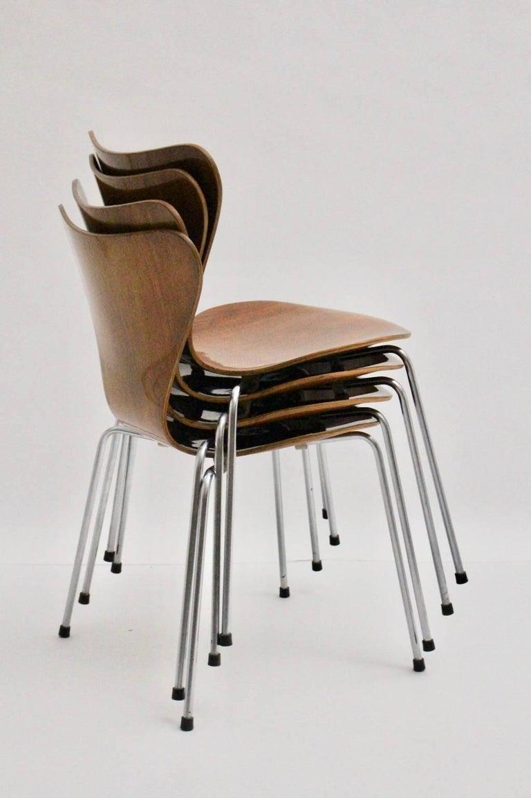 Modell 3107 Stühle, ca. 1955, Arne Jacobsen 4