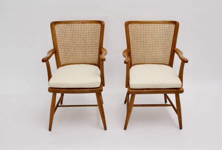 Art Deco Armchairs by Josef Frank, Vienna, circa 1928 For Sale