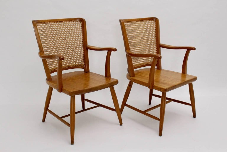 Austrian Armchairs by Josef Frank, Vienna, circa 1928 For Sale
