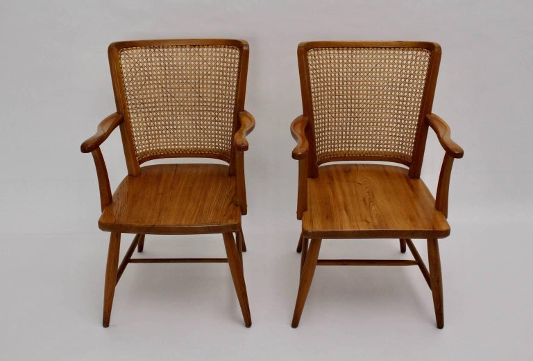 Armchairs by Josef Frank, Vienna, circa 1928 In Good Condition For Sale In Vienna, AT