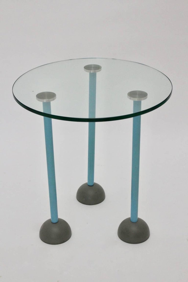 Italian Side Table by Ettore Sottsass, 1985, Italy For Sale
