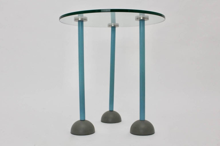 Late 20th Century Side Table by Ettore Sottsass, 1985, Italy For Sale