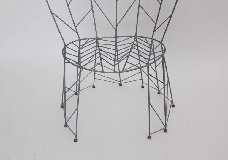 Side Chair by Bohuslav Horak, 1988 Czech Republic For Sale 2