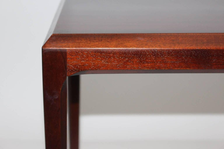 Mid-20th Century Rosewood Mid Century Modern Side Table by Johannes Andersen, circa 1963, Denmark For Sale