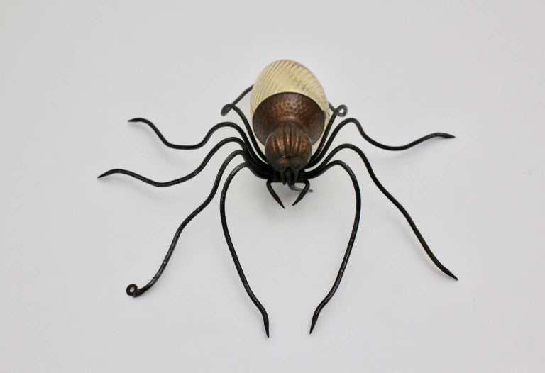 Mid-Century Modern Spider Wall Lamp, 1950s, Italy For Sale