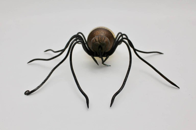 Italian Spider Wall Lamp, 1950s, Italy For Sale