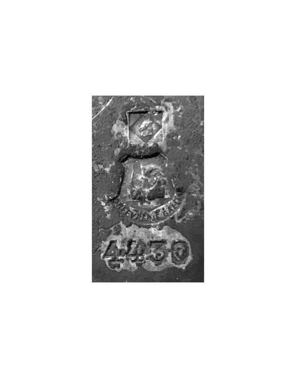 Metal Early Christofle Art Nouveau Photograph Frames, circa 1900 For Sale