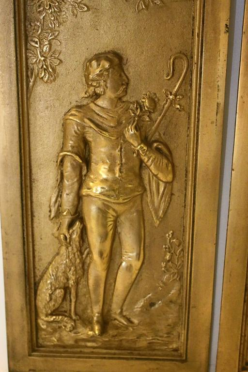 19th Century Cast Bronze Relief Panels For Sale At 1stdibs