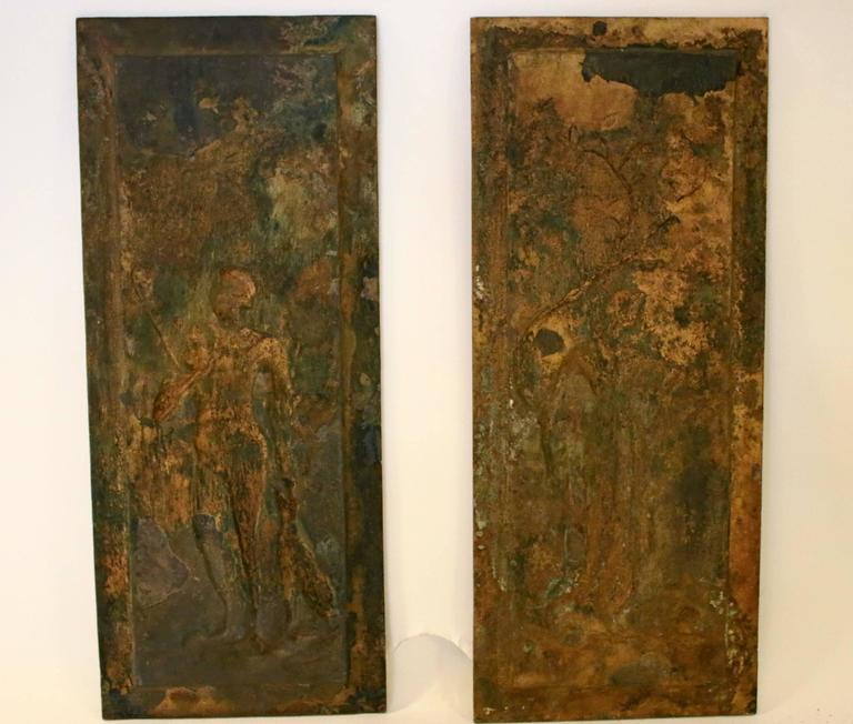 19th Century Cast Bronze Relief Panels For Sale 2