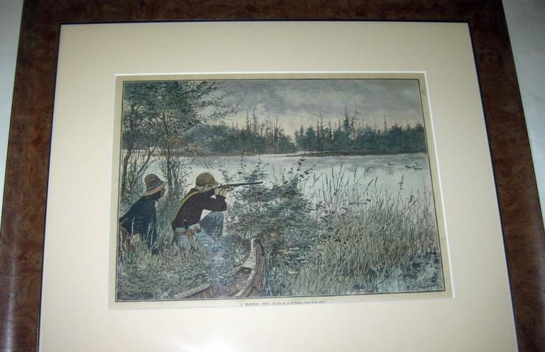 Other 19th Century Sporting Prints by A.B. Frost Set of Four For Sale