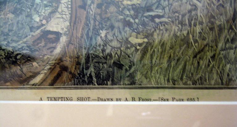 19th Century Sporting Prints by A.B. Frost Set of Four For Sale 1