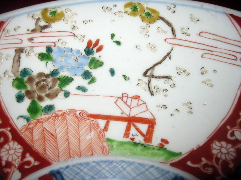 Late 19th Century 19th century Japanese Imari Petite Charger For Sale