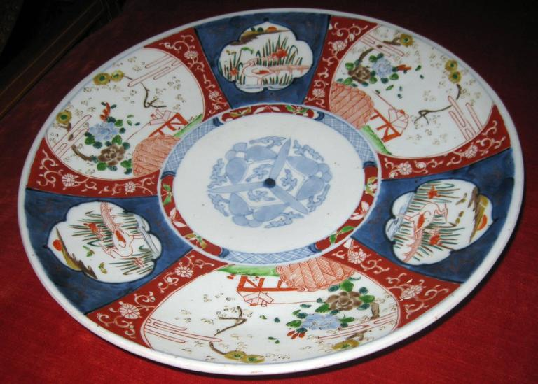 19th century Japanese Imari Petite Charger For Sale 3