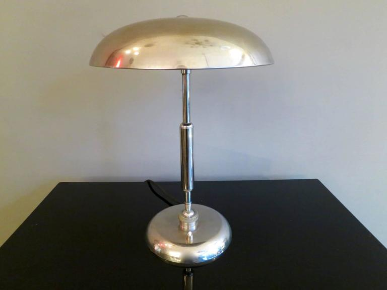 European Pair of Mid-Century Table Lamps For Sale