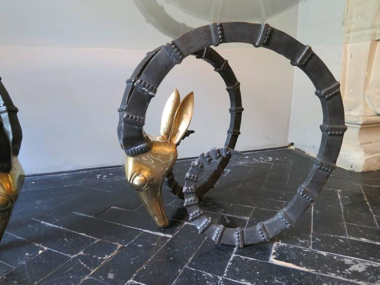 "French ""Ibex"" Cocktail Table by Alain Chervet 2"