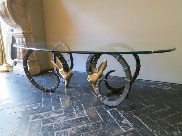 "French ""Ibex"" Cocktail Table by Alain Chervet 4"