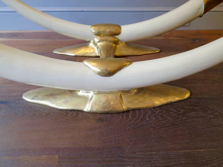 Huge Coffee Table by Jacques Duval-Brasseur For Sale 1