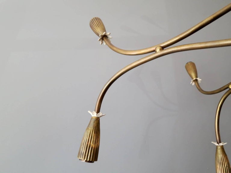 Mid-Century Modern Italian Mid-Century Chandelier Attributed to Arredoluce For Sale