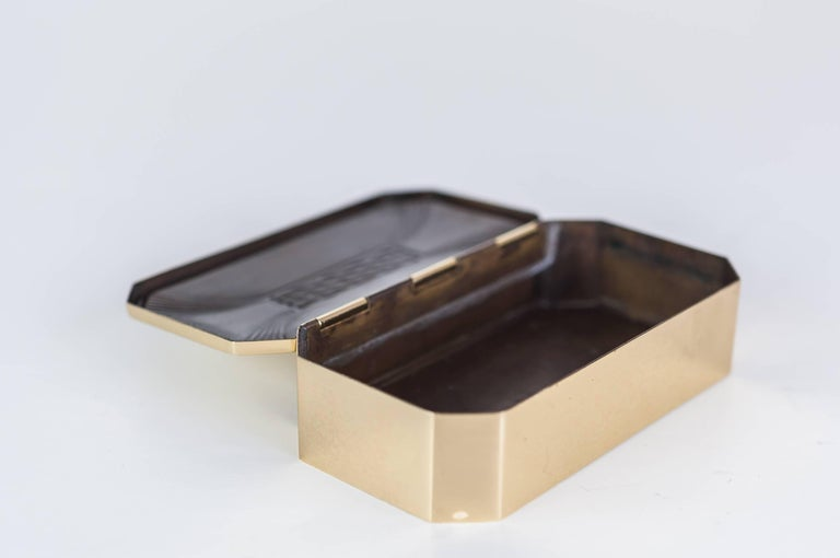 Art Deco Jewelry Box, circa 1920s In Excellent Condition For Sale In Wien, AT