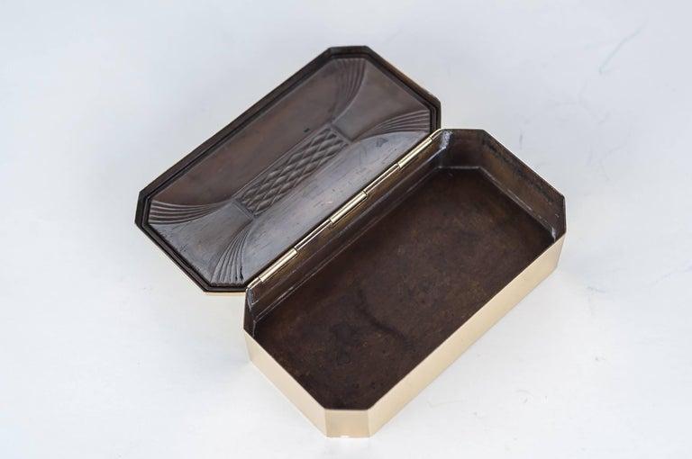 Early 20th Century Art Deco Jewelry Box, circa 1920s For Sale