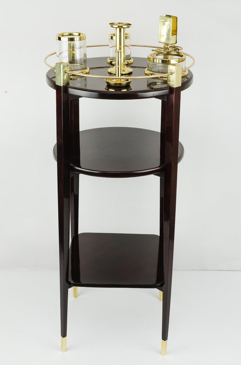 Jugendstil Viennese Smoking Table, 1910s For Sale